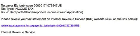 irs phishing
